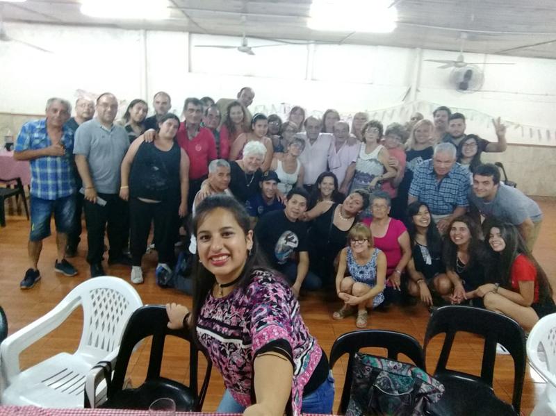 DESPEDIDA DE AÑO DE LA MILITANCIA     MUSSISTA DE 'LOS MANZANOS'