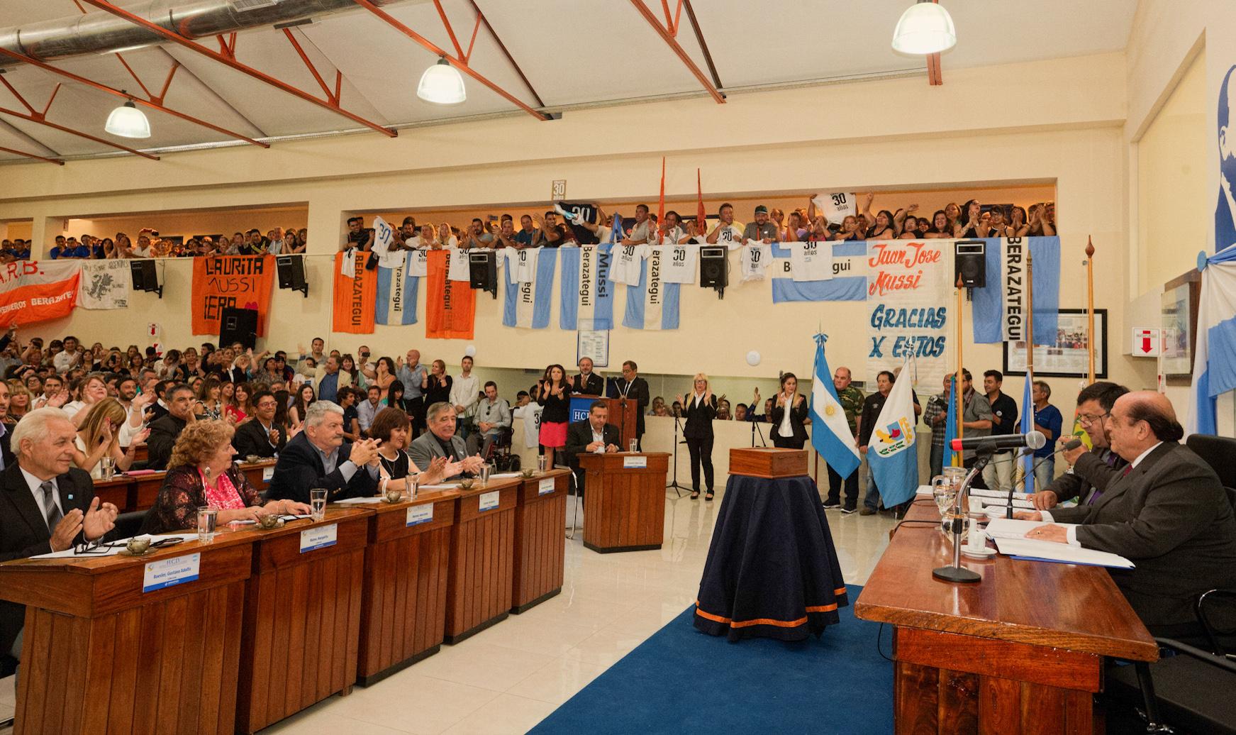 Juan José Mussi-1° concejal de Berazategui (2)