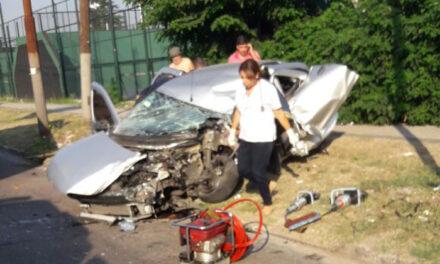 GRAVE ACCIDENTE DE TRÁNSITO EN BERAZATEGUI