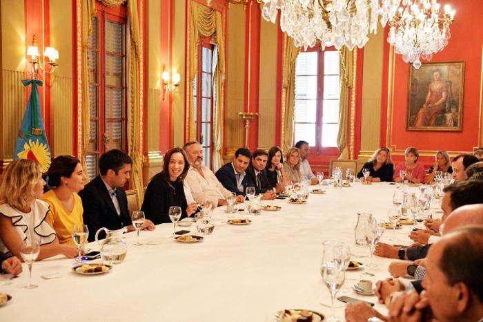 Vidal y diputados