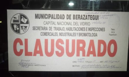 CLAUSURARON 'MR. MAGOO' EN JUAN M. GUTIÉRREZ