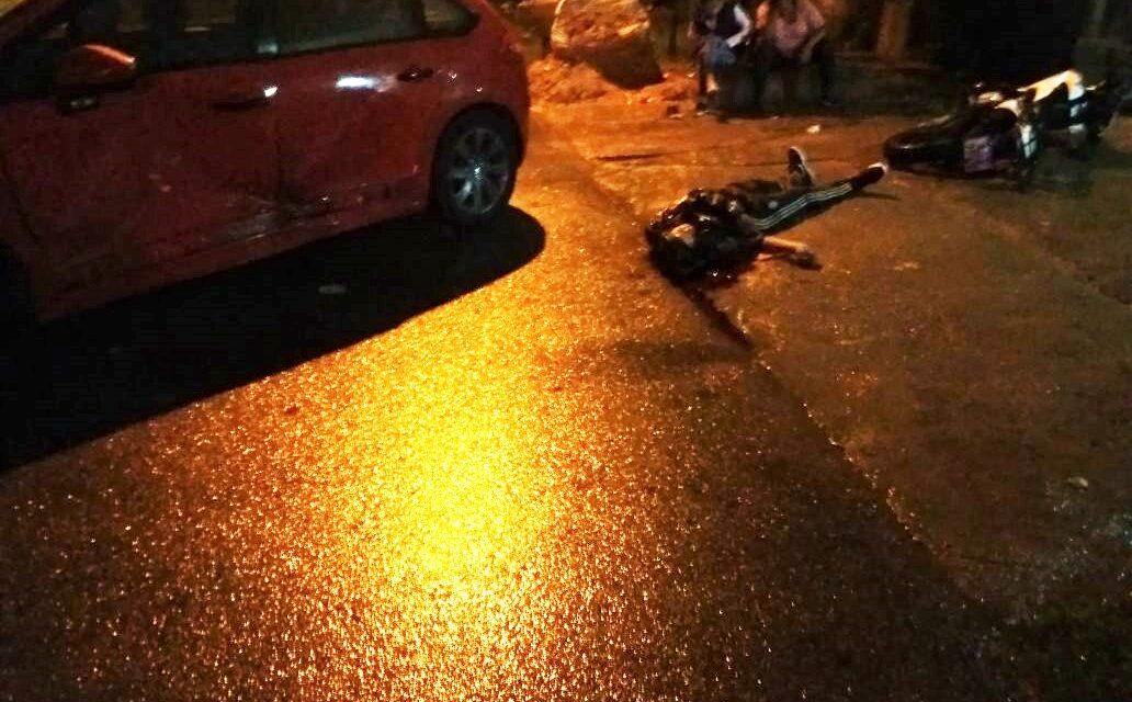 TRAGEDIA EN BERAZATEGUI: JOVEN MOTOCICLISTA FALLECE EN ACCIDENTE