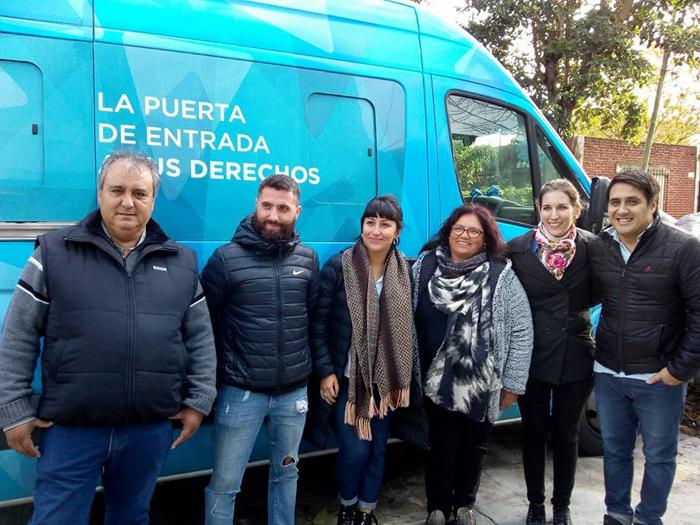 Nuevo Operativo de documentación en Berazategui