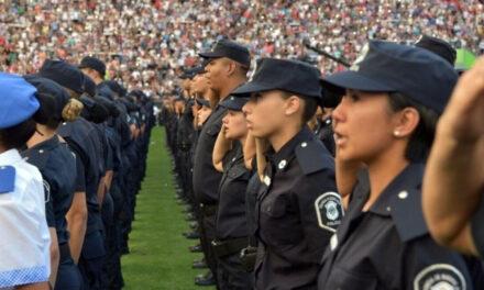 Más de 20 mil policías sumariados y 625 detenidos desde que asumió Vidal