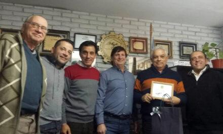 Reconocimiento del Centro Comercial e Industrial de Berazategui por el 'Día del Periodista'