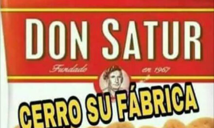 CIERRA FÁBRICA DE GALLETITAS 'DON SATUR'