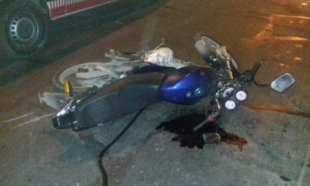 VIOLENTO ACCIDENTE EN BERAZATEGUI