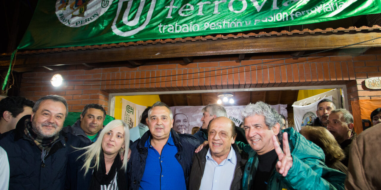 SE INAUGURÓ SEDE POLÍTICA DE 'UNIÓN FERROVIARIA' EN BERAZATEGUI