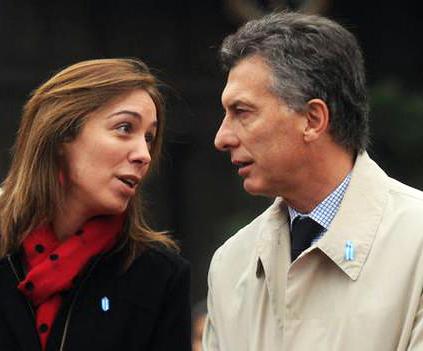 Encuesta asegura que Vidal le ganaría a Macri en hipotético 'mano a mano' electoral