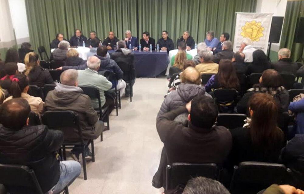 INSEGURIDAD: REUNIÓN CON JEFES POLICIALES Y COMERCIANTES EN EL CCIB