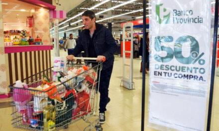 Descuento del Banco Provincia: Medio millón de compras en supermercados