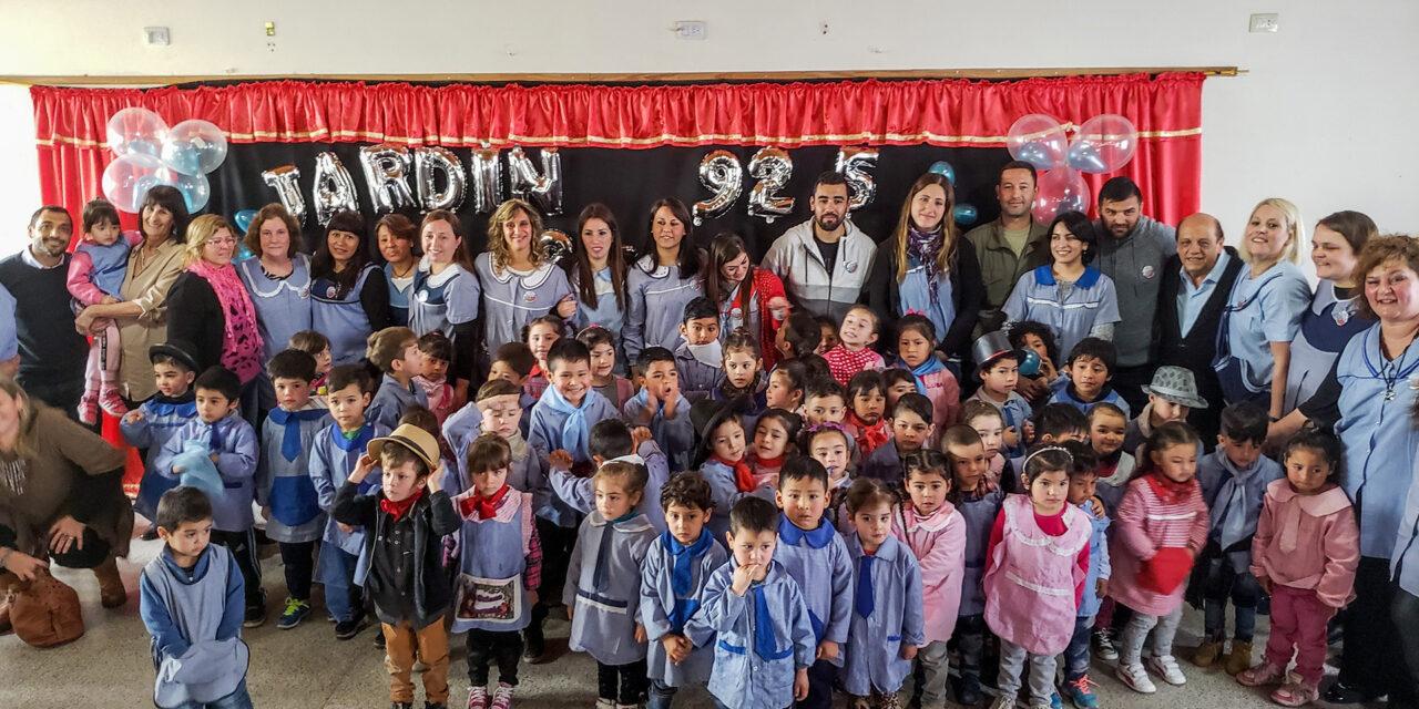 EL JARDÍN DE INFANTES N° 925  CELEBRÓ SU 25° ANIVERSARIO