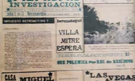 HOY HACE 33 AÑOS NACÍA 'VERDAD E INVESTIGACIÓN'
