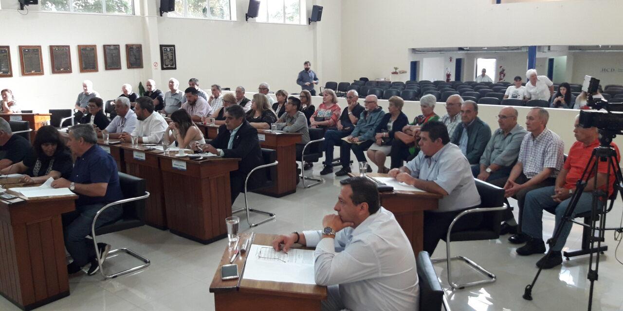 SE APROBÓ LA ORDENANZA FISCAL E IMPOSITIVA 2019