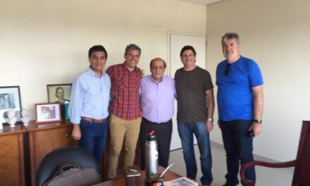 EL CENTRO COMERCIAL DE BERAZATEGUI PRESENTÓ CIRCUITO TURÍSTICO AL DR. MUSSI