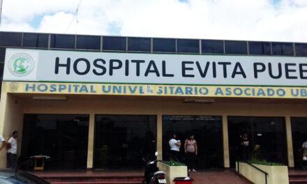 RESTITUYERON IMAGEN DE 'EVITA' EN EL HOSPITAL DE BERAZATEGUI
