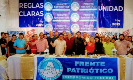 LANZARON EL 'FRENTE PATRIÓTICO' DE BERAZATEGUI