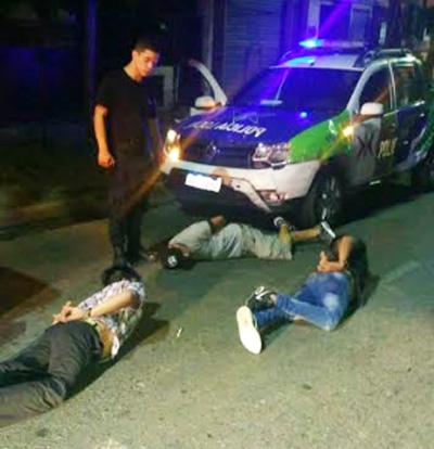 POLICIA LOCAL DETIENE GAVILLA ARMADA