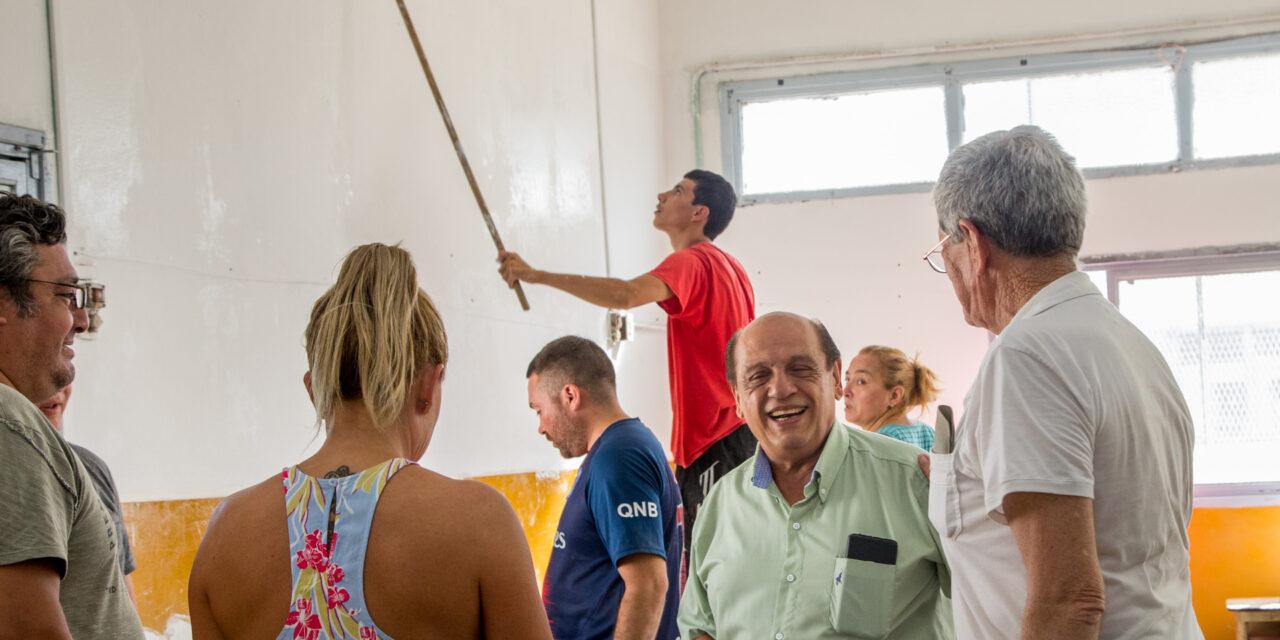 MUSSI ACOMPAÑÓ NUEVA JORNADA DE TRABAJO EN INSTITUCIONES DE BERAZATEGUI