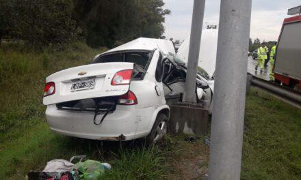 TRAGICO ACCIDENTE EN EL PATO, CON DOS FALLECIDOS