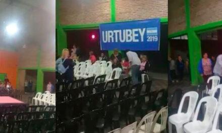 PENOSO ACTO DE URTUBEY EN CATAMARCA: «DEMASIADAS SILLAS VACÍAS…»