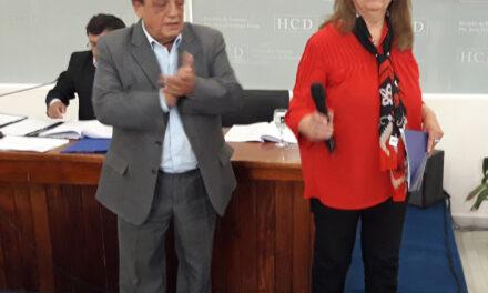 DESIGNAN CON EL NOMBRE DE ALFONSIN, UNA UNIDAD SANITARIA DE BERAZATEGUI