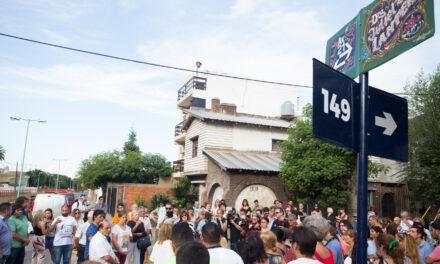 LA AV. 21 YA LLEVA EL NOMBRE DE 'JULIETA LANTERI'