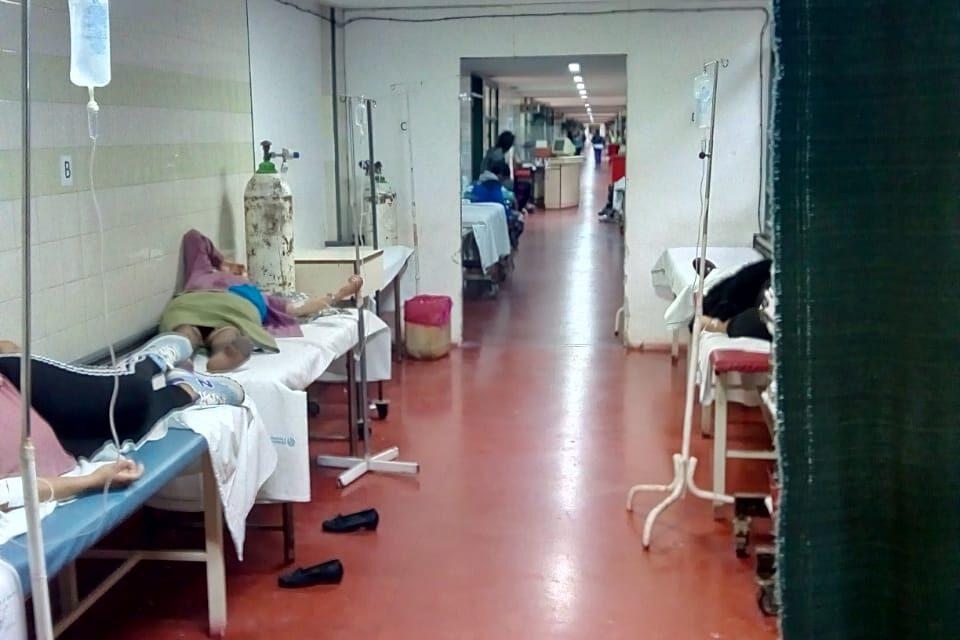 TRISTE Y LAMENTABLE ESTADO DEL HOSPITAL «EVITA PUEBLO» DE BERAZATEGUI