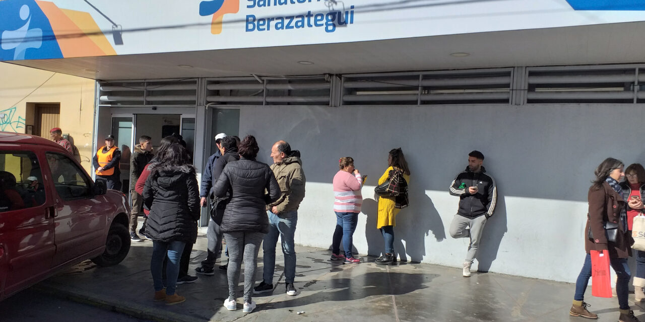 ALLANARON EN BERAZATEGUI EL 'SANATORIO DEL TERROR'