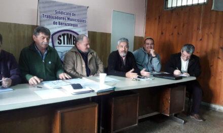 LA C.G.T. REGIONAL SESIONÓ EN LA SEDE DE LOS MUNICIPALES DE BERAZATEGUI