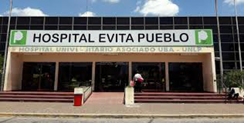¿HASTA CUANDO VAN A DEJAR ABANDONADO  EL HOSPITAL 'EVITA PUEBLO' DE BERAZATEGUI?