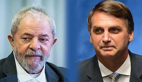 Lula Bolsonaro