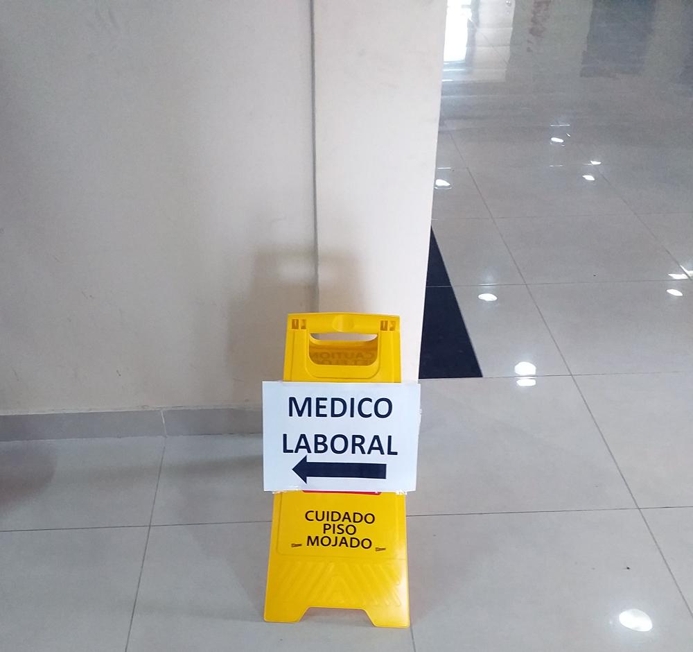 cartel reconocim medico