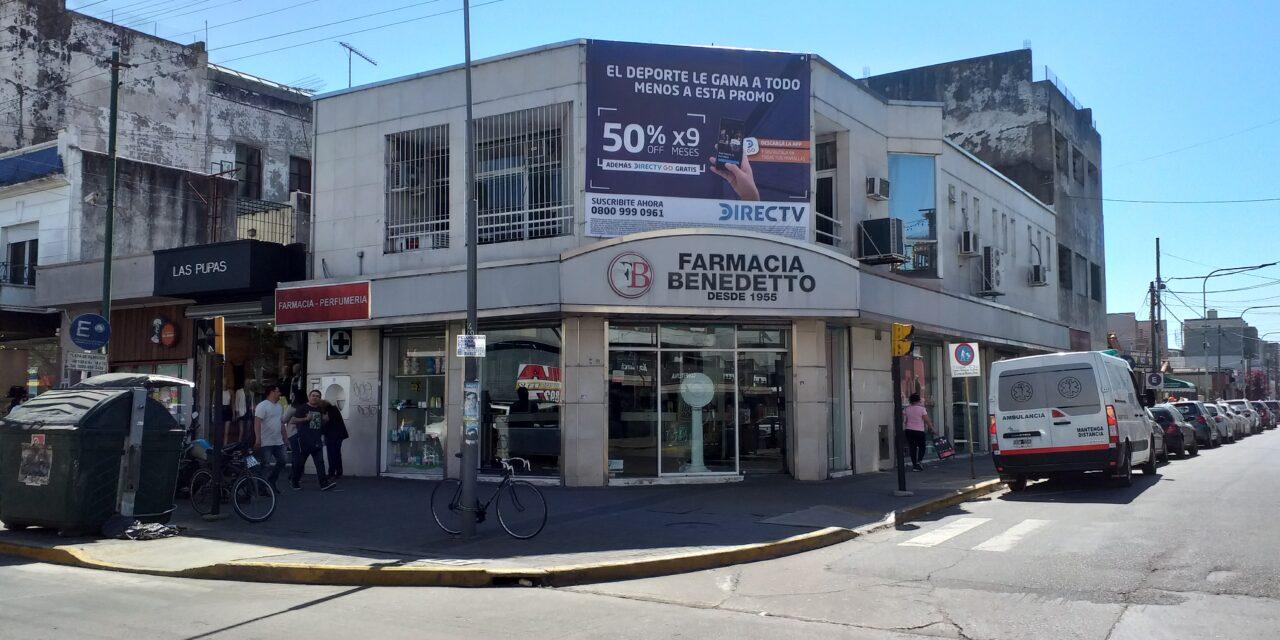 BENEDETTO NO ES MAS DUEÑO DE LA FARMACIA DE BERAZATEGUI