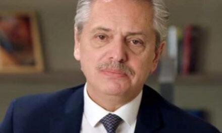 ALBERTO FERNÁNDEZ: «TENGO LA TRISTE NOTICIA DE DECIRLES QUE NO SE CUANTO TIEMPO VA A DURAR ESTO»