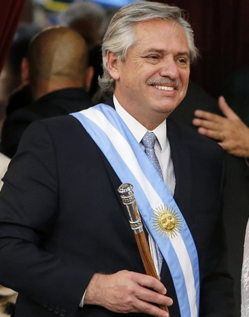 ALBERTO F LANZA EL 'PLAN ALIMENTAR' Y CAJAS NAVIDEÑAS