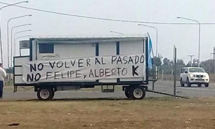 EL CAMPO LE DECLARÓ LA GUERRA A ALBERTO F. Y COMENZÓ A INSTALARSE EN LAS RUTAS