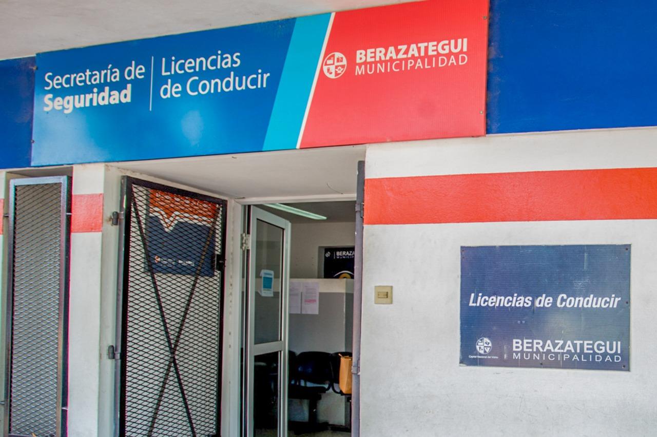 BERAZATEGUI SUSPENDE TRÁMITES DE LA LICENCIA DE CONDUCIR (2)