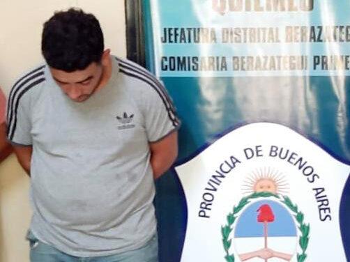 POLICÍA DE BERAZATEGUI RECAPTURÓ PELIGROSO DELINCUENTE EVADIDO