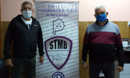 EL SINDICATO MUNICIPAL DE BERAZATEGUI SORTEÓ 10 ÓRDENES DE COMPRA DE $ 5.000