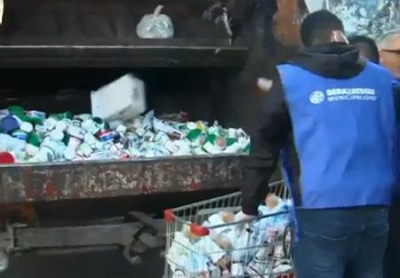 MUNICIPIO DE BERAZATEGUI CLAUSURÓ MERCADO 'CHASCOMUS' POR SOBREPRECIOS