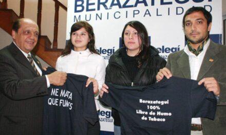 """BERAZATEGUI, CIUDAD PIONERA EN DECIRLE """"NO"""" AL HUMO DE TABACO"""