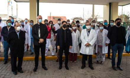 KICILLOF Y MUSSI INAUGURARON OBRAS EN EL 'EVITA PUEBLO'