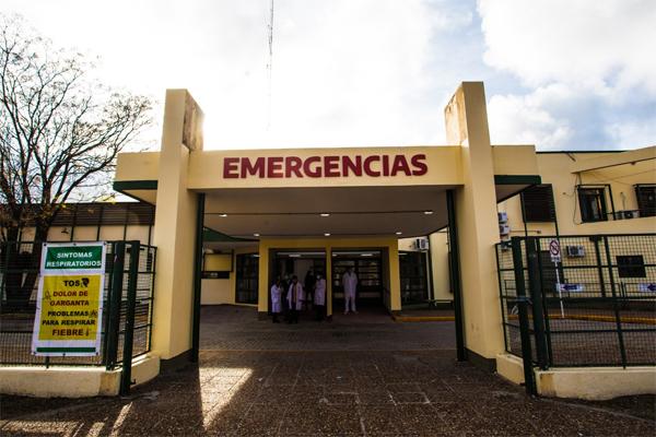 HOSPITAL 'EVITA PUEBLO' CASI EN ALERTA ROJO POR COVID