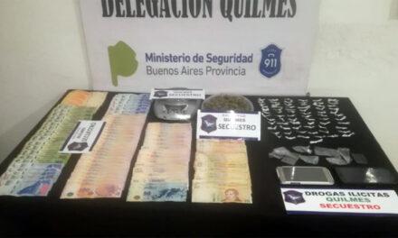 PROCEDIMIENTO ANTIDROGAS EN BUSTILLO: SECUESTRAN DISTINTOS ESTUPEFACIENTES