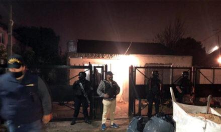 CON MEGAOPERATIVO POLICIAL, DETIENEN BANDA DE 'MOTOCHORROS'