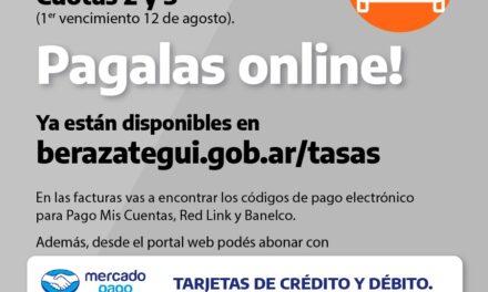 LAS CUOTAS 2 Y 3 DE PATENTE AUTOMOTOR ESTÁN DISPONIBLES EN LA WEB MUNICIPAL