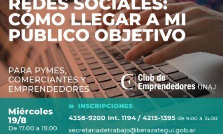 CAPACITACIÓN SOBRE REDACCIÓN EN REDES SOCIALES PARA COMERCIANTES