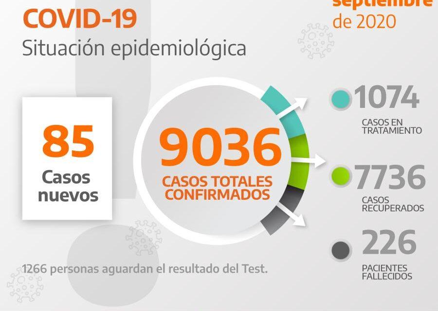 226 FALLECIDOS Y 1074 EN TRATAMIENTO POR COVID19 EN BERAZATEGUI