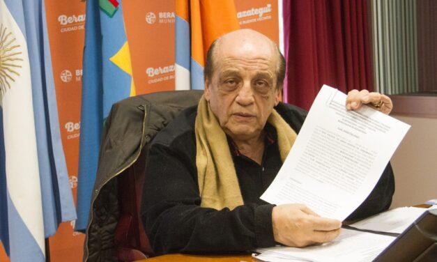 MUSSI ANUNCIÓ OBRAS PARA MEJORAR ABASTECIMIENTO DE AGUA EN BERAZATEGUI